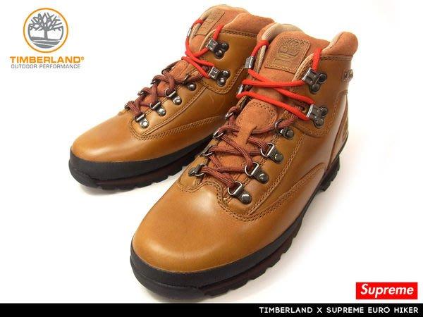 【 現貨 】全新正品 聯名限量鞋款 Supreme x Timberland Euro Hiker Boots 黃靴 登山靴 9-10.5