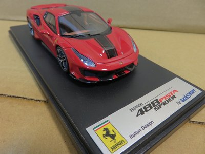 =Mr. MONK= Looksmart Ferrari 488 Pista Spider Hard Top 閉篷版