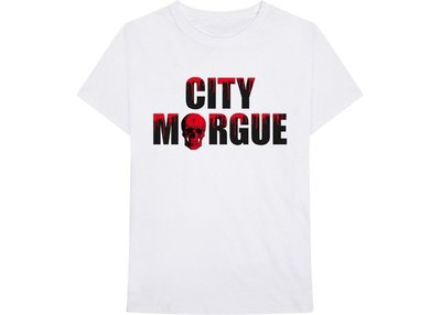 全新商品 Vlone X City Morgue Drip 骷髏 短袖 TEE
