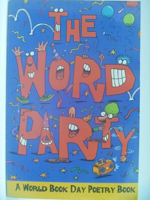 【月界二手書店】The Word Party-A World Book Day Poetry Book〖少年童書〗CBC