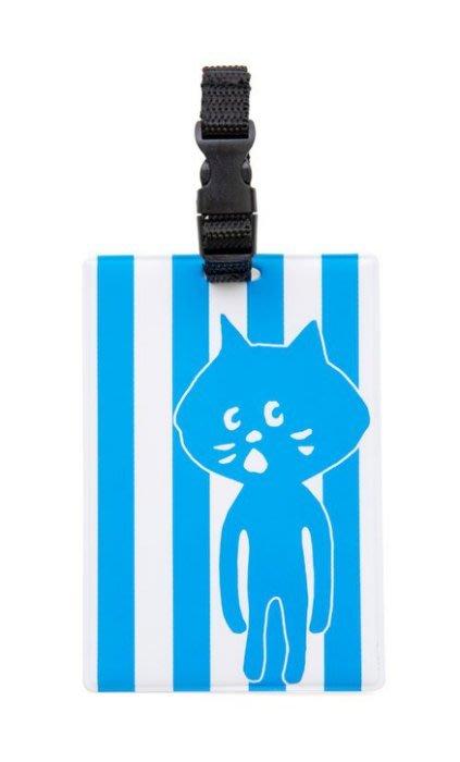 [瑞絲小舖]~日雜Ne-net NYA-小黑貓票夾行李牌 卡套 悠遊卡套 證件套 車票夾 行李吊牌