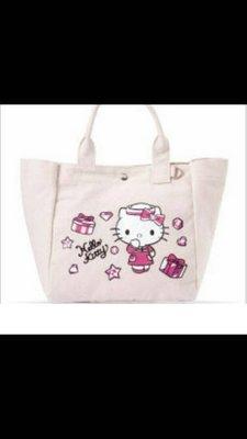 Hello kitty 手提袋 遠東巨城sogo百貨 百貨公司來店禮 帆布 手提包 賣場消費滿百送非醫療口罩