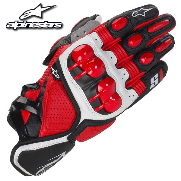 新款 意大利GP-S1原單機車騎士護具手套 護套 摩托車賽車手套 真皮手套騎行騎士防摔手套