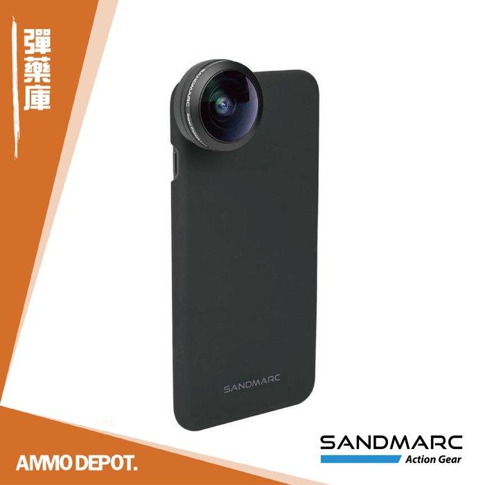 【AMMO DEPOT.】 SANDMARC 0.2X 魚眼 HD 手機 魚眼鏡頭 iPhone SM-258
