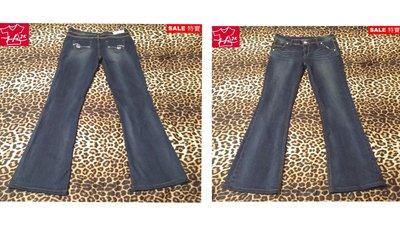 BIG TRAIN  Victoria 牛仔褲 水鑽 修身靴型  彈性-女款-XL【JK嚴選】LV 太陽的後裔