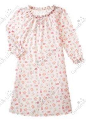 (((撿便宜出清))) 美國 GYMBOREE 粉紅芭蕾 家居 睡衣洋裝 (9yrs)