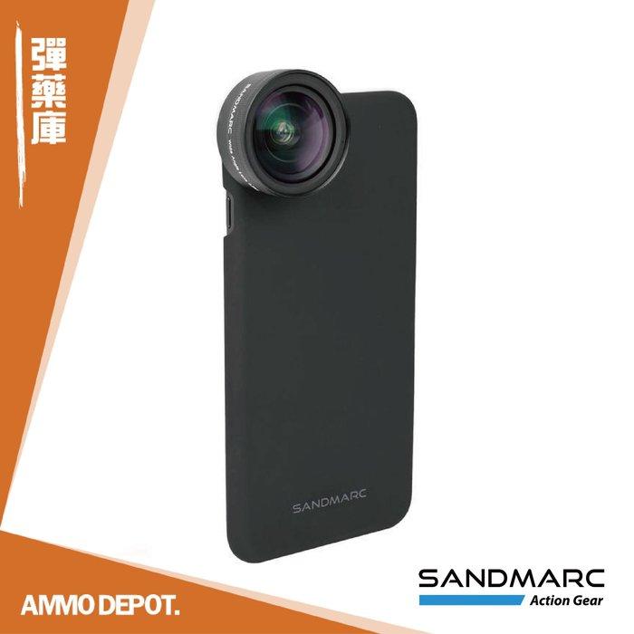 【AMMO DEPOT.】 SANDMARC 0.56X 超廣角 HD 手機 廣角鏡頭 iPhone SM-255