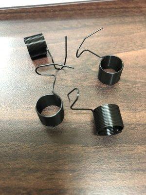 台灣 訂製 工業用 縫紉機 平車 打結 吊線彈簧 日本鋼 JUKI BROTHER 新輝針車有限公司