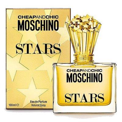 ☆MOMO小屋☆ MOSCHINO Stars 繁星 女性淡香精 100ML