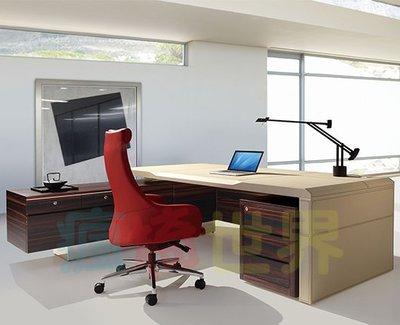 《瘋椅世界》OA辦公家具全系列 訂製高級主管桌 EN-L9068C (董事長桌/老闆桌/辦公桌/工作桌)