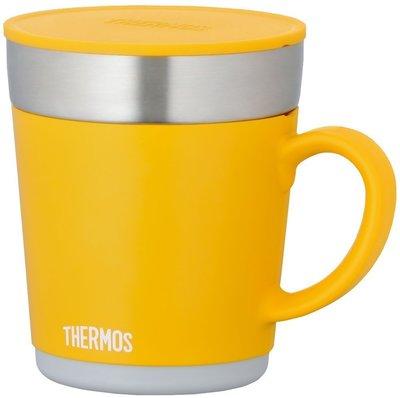 Bz Store 日本 Thermos  膳魔師 JDC 350 保溫  保冰杯  350ml 橘黃色