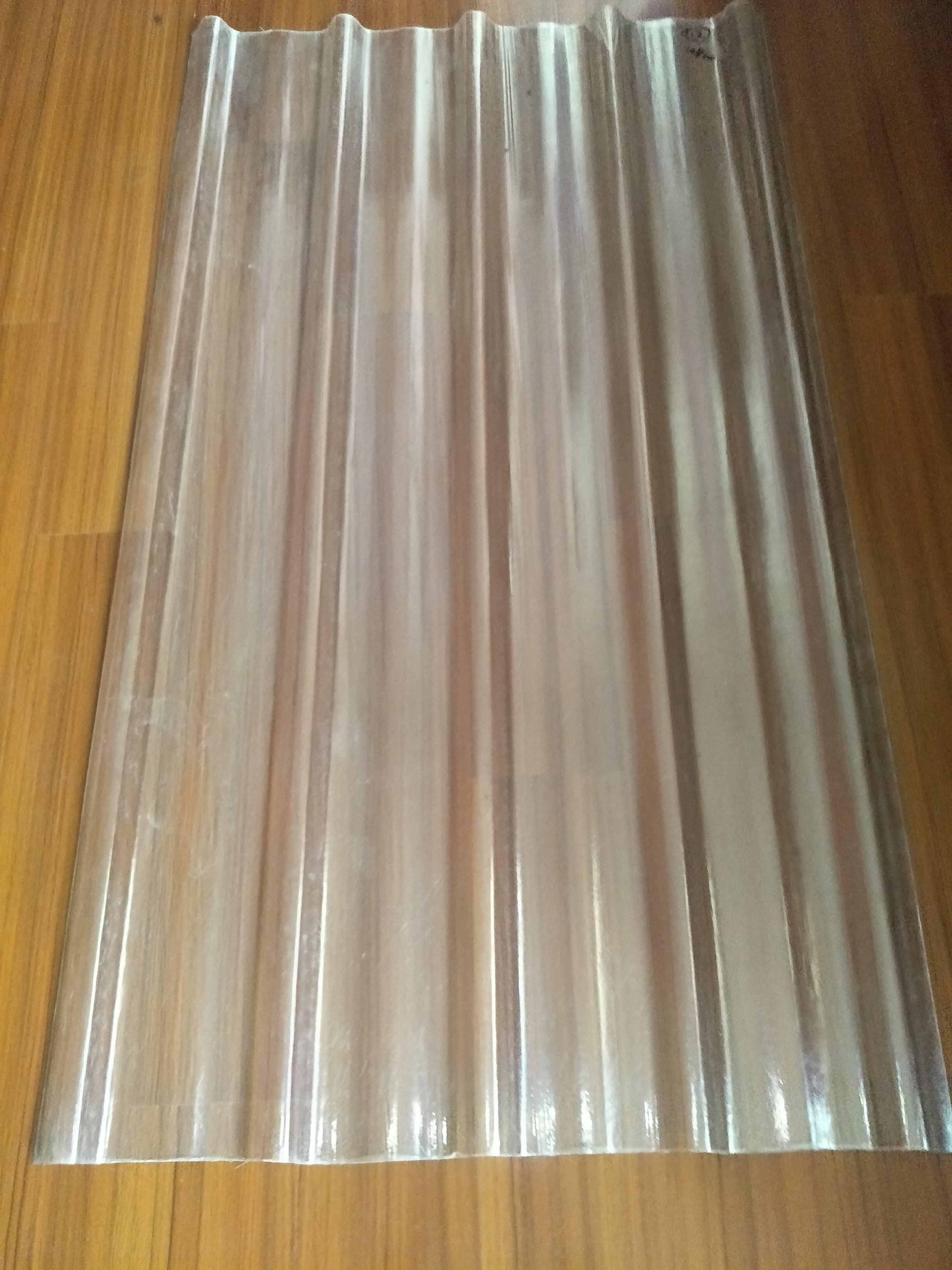 【利豐牌】新FRP透明五槽角浪板 ( 1.5mm、2.0mm ) 抗UV、透光、耐酸、耐鹼、耐用、隔熱/玻璃鋼板/採光