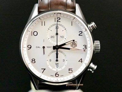 [好時計] TAG HEUER 豪雅 Carrera Calibre 1887  三眼計時碼錶 WS09