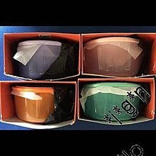 全新 7-11 法式廚意餐具 LE CREUSET LC 儲物盒  一套4個 有盒有黑膠袋