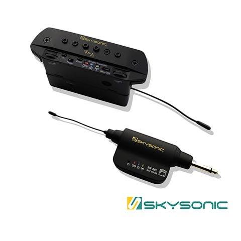 Skysonic FS-1 無線 雙系統 木吉他 拾音器 - 【黃石樂器】