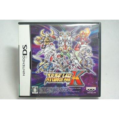 [耀西]二手 純日版 任天堂 DS NDS 超級機器人大戰 K