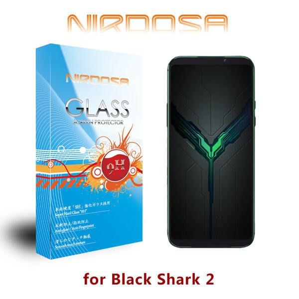 【愛瘋潮】NIRDOSA BLACK SHARK 2 黑鯊2 9H 0.26mm 玻璃螢幕保護貼