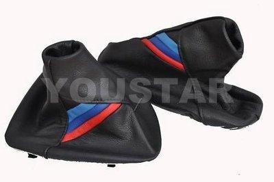 英國進口皮飾 BMW 3系列E36 E46手排專用防塵皮套 排檔桿皮套+手剎車皮套 義大利牛皮M3 Design