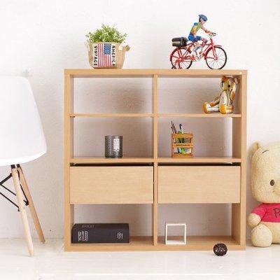 (限宅配)快樂生活網【YV8630】台灣製 布拉格2x2收納系統櫃 書櫃 櫥櫃 展示櫃 收納櫃 抽屜櫃 櫃子 710