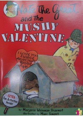 [文閲原版][英文原版] Nate the Great and the Mushy Valentine