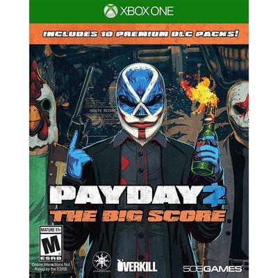 (現貨全新) XBOX ONE 劫薪日 2 大幹一票 英文美版 Payday 2: The Big Score