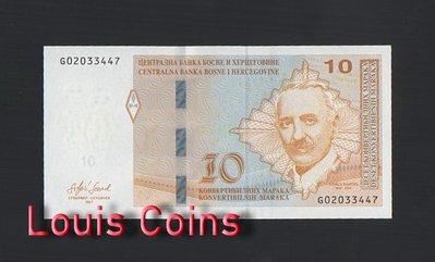 【Louis Coins】B462-BOSNIA & HERZEGOVIN-2017波士尼亞與赫塞哥維納紙幣(黑山)