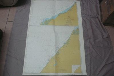 紫色小館90-1---DEPTHS IN METRES-航海圖-RA S AL KHAYMAH TO DUBAYY