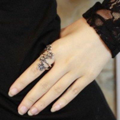 戒指 - 梅花造型金銀兩款 #ZD0814002