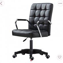 FAX88 辦公椅/吧椅 帶扶手 PU黑色滑輪