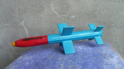 早期海軍雄風飛彈---鋁製