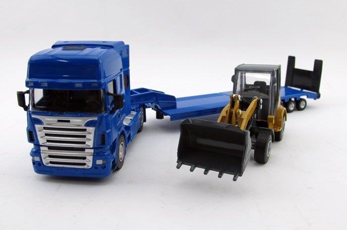 【阿LIN】0251AB 5012-25 1:50 機械運輸車 1:50 Scale HY TRUCK 運輸車 推土機