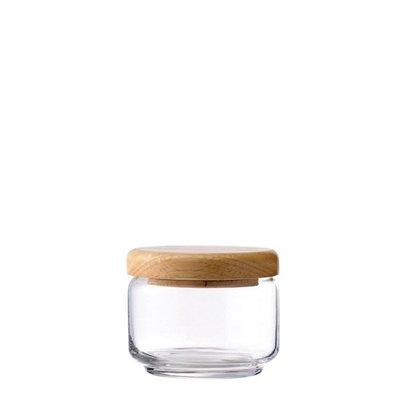 ☘小宅私物☘ Ocean 木蓋儲物罐 325ml 收納罐 密封罐 玻璃罐 咖啡罐 保鮮罐 現貨附發票