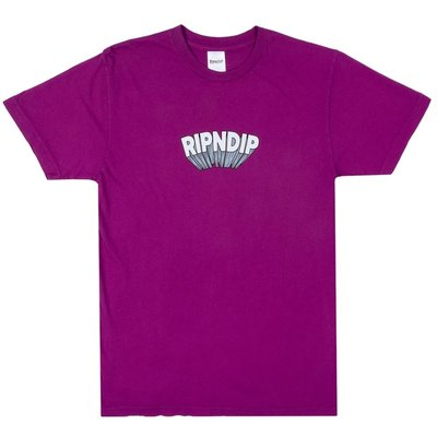【A-KAY0】RIPNDIP 男女 MIND BLOWN TEE PURPLE 短T 紫【RND3968PURP】