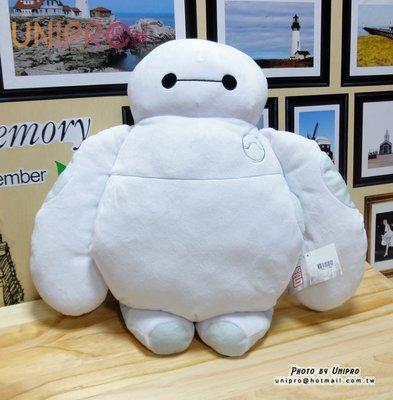 【UNIPRO】大英雄天團 Q版杯麵 BayMax 暖手枕 玩偶 抱枕 迪士尼正版授權 Big Hero 6