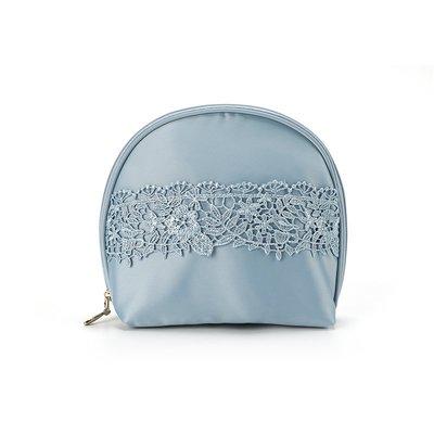 Ordinary shop 創意BOTTA DESIGN小號手拿貝殼化妝包便攜少女口紅隨身補妝包蕾絲系列收納用品