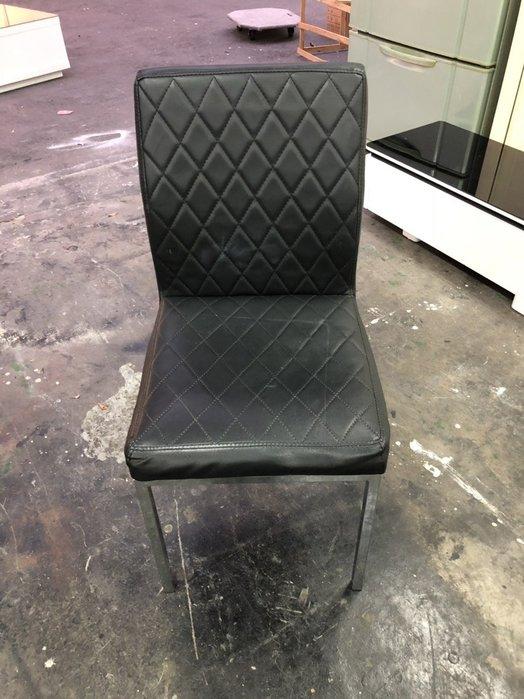 非凡二手家具 菱格皮餐椅*洽談椅*麻將椅*辦公椅*接待椅*電腦椅*化妝椅*房間椅*沙發椅*咖啡椅