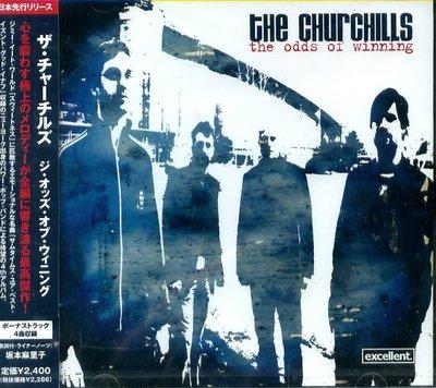 K - The Churchills The Odds Of Winning - 日版 +4BONUS - NEW