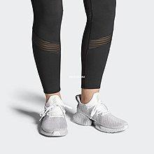 Adidas Alphabounce Instinct Cc M  百搭  慢跑鞋 水波紋 淺灰白黑 Cg5590 男女鞋