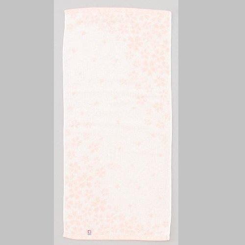 ☆注目の日本製西川原裝進口今治粉橘櫻花洗臉巾/長毛巾☆