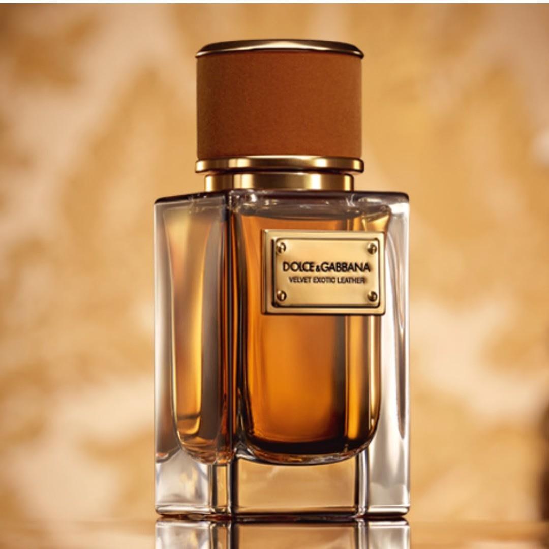 Dolce & Gabbana Velvet Exotic Leather 異國皮革EDP 50ml 酒香皮革焚香 代購