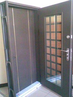 雙玄關門21500元-鍛造門硫化銅門鋼木門鑄鋁門防火門/塑鋼門/實木門/氣密窗隔音窗鋁門/淋浴拉門/不銹鋼門白鐵門/折紗