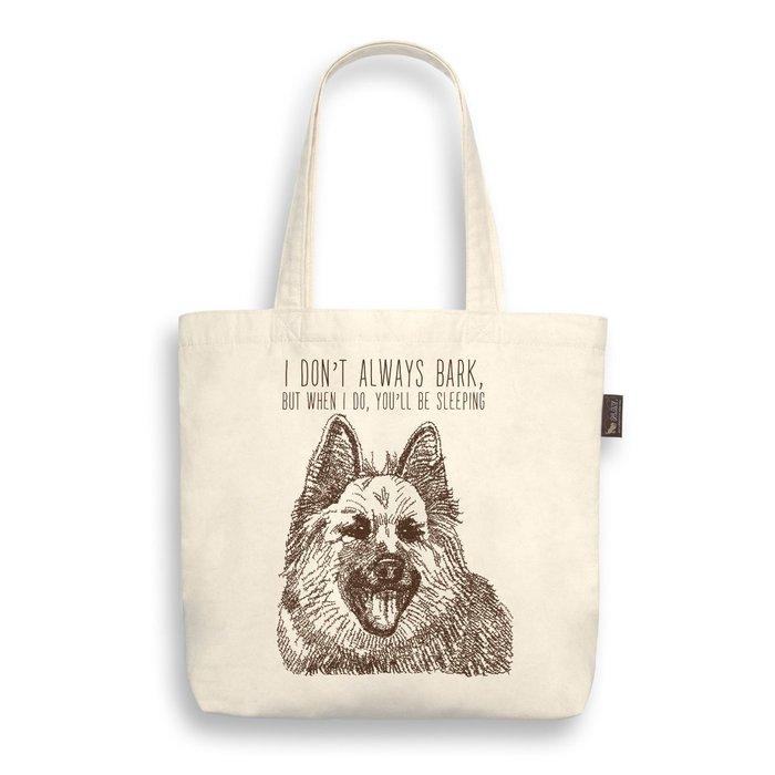 ☘小宅私物☘ 美國 P.L.A.Y. 環保購物袋 狗狗帆布包 德國狼犬 單肩帆布袋 寵物提袋 現貨附發票