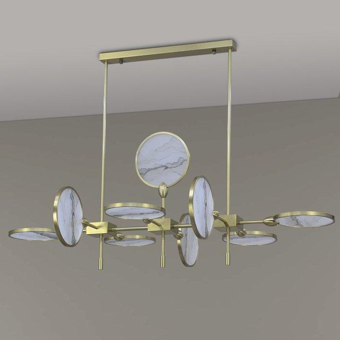【58街】「山水扇子吊燈」低調奢華極致典雅品味/工程燈具/美術燈。複刻版。GH-575