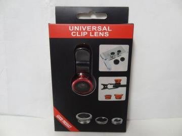Universal Clip Lens 3 in 1 手機外接鏡頭組手機/平板濾鏡組 for iPhone