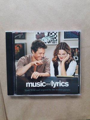 (下標即結標)Music And Lyrics Original Soundtrack K歌情人電影原聲帶