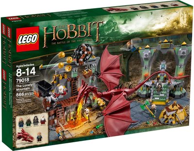 Lego 79018 The Lonely Mountain Hobbit