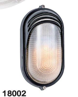 Oval Outdoor Flood Light Series 長橢圓型戶外壁燈 (黑色/白色)E27 110-220V