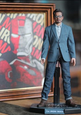 小量現貨 1:6 IRON MAN3 TONY STARK 便服.