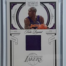 Kobe Bryant 2009-10 National Treasures Century 球衣卡 限量/99