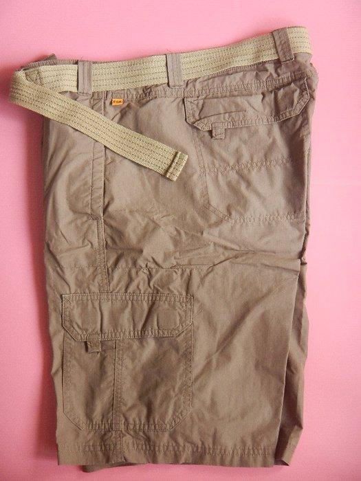 【甜心寶貝】F & S / 1871/ Field Stream 戶外軍綠色五分褲 / M 號